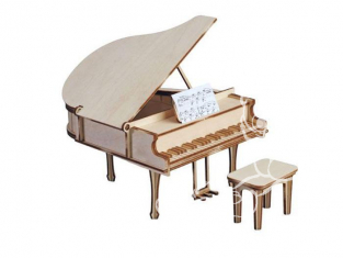 Artesania Latina ART&WOOD 30200 Grand piano avec tabouret et partition