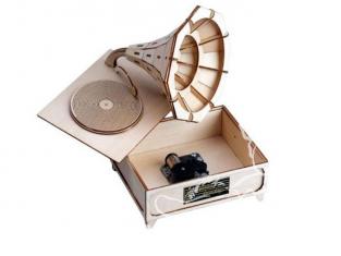 Artesania Latina ART&WOOD 30202 Gramophone