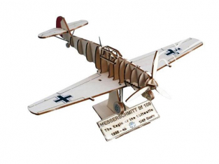 Artesania Latina ART&WOOD 30217 Messerdchmitt BF 109 1/48