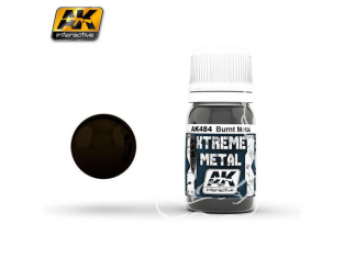 AK interactive XTREME METAL AK484 BURNT METAL 30ML