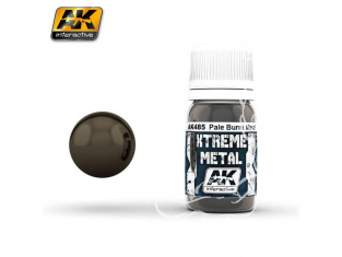 AK interactive XTREME METAL AK485 PALE BURNT METAL 30ML