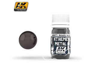 AK interactive XTREME METAL AK671 METALLIC SMOKE 30ML