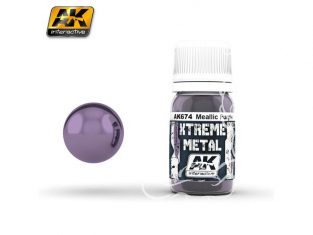 AK interactive XTREME METAL AK674 METALLIC PURPLE 30ML