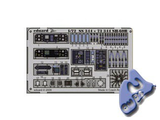 EDUARD photodecoupe SS344 SH-60B 1/72