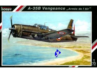 Special Hobby maquette avion 72049 A-35B Vengenge 1/72