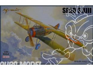 Merit maquette avion 62401 SPAD S. XIII 1918 1/24