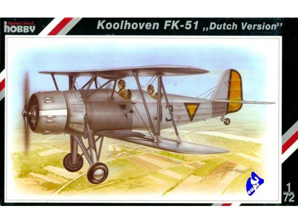 Special Hobby maquette avion 72048 Koolhoven FK-51 1/72