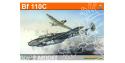 EDUARD maquette avion 8201 Messerschmitt Bf 110C ProfiPack Edition 1/48