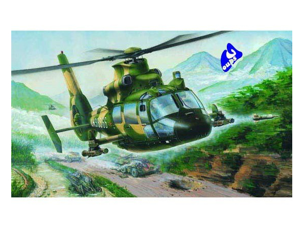 Trumpeter maquette avion 02802 HELICOPTERE CHINOIS Z-9G 1/48