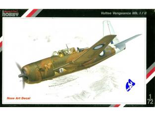 Special Hobby maquette avion 72034 Vultee Vengence MK.I/II 1/72