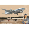 RODEN maquettes avion 301 DOUGLAS DC-7C PAN AMERICAN WORLD AIRWAYS (PAA) 1/144