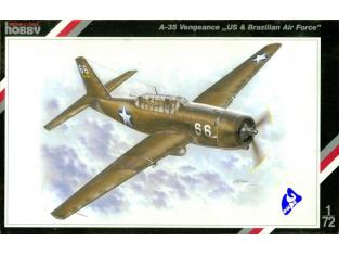 Special Hobby maquette avion 72040 A-35 Vengence 1/72