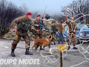 Revell maquette militaire 02522 Forces d'actions spéciales Allemandes Bundeswehr 1/72