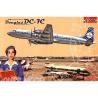 RODEN maquettes avion 302 DOUGLAS DC-7C ROYAL DUTCH AIRLINES (KLM) 1/144