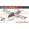 AMK maquette avion 88004 Fouga Magister CM.170 Patrouille de France 1/48