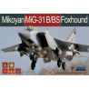 AMK maquette avion 88008 Mikoyan MiG-31 B/BS Foxhound 1/48