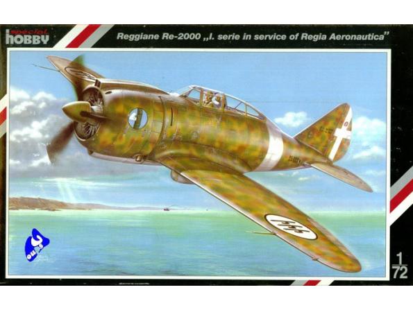 Special Hobby maquette avion 72079 Reggiane Re-2000 I 1/72