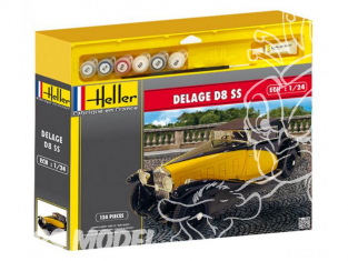 Heller maquette voiture 50720 Delage D8SS ensemble complet 1/24