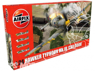 Airfix maquette avion 19003 Hawker Typhoon MkIb Early Car Door 1/24