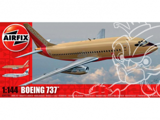 AIRFIX maquettes avion 04178A Boeing 737 1/144