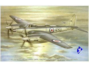 Special Hobby maquette avion 72059 DH.103 Sea Hornet NF Mk.21 1/72
