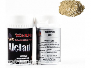 Pigments Alclad II Warpigs ALCWP013 Pigments Poussiere 20ml
