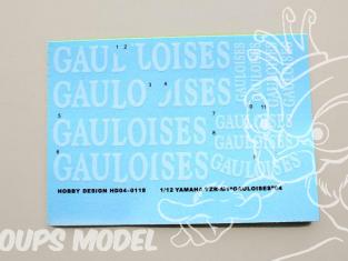 Hobby Design Decals 04-0112 MP4/8 Logos Sponsors 1/20