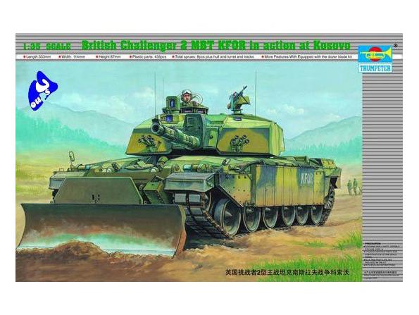 "Trumpeter maquette militaire 00345 ""CHALLENGER II"" 1/35"