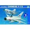 Trumpeter maquette avion 02216 F-7EB ARMEE DE L'AIR CHINOISE 1/3