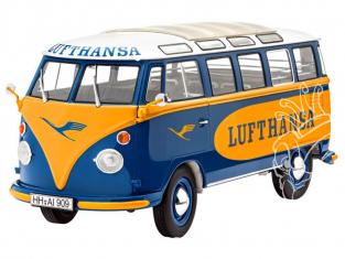 Revell 67436 Model Set VW Samba Bus Lufthansa 1/24