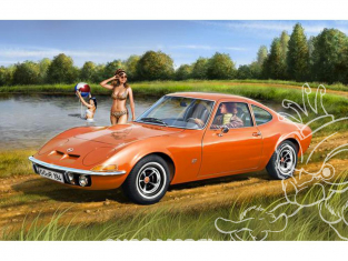 Revell maquette voiture 07680 Opel GT 1/32