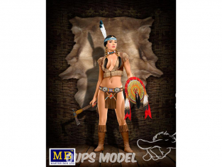 Master Box personnages 24019 SERIE PIN-UP THUNDER SPIRIT 1/24