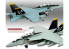 Academy maquette avion 12535 USN F/A-18F VFA-103 Jolly Rogers 1/72