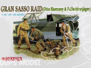 dragon maquette militaire 6094 gran sasso raid 1/35
