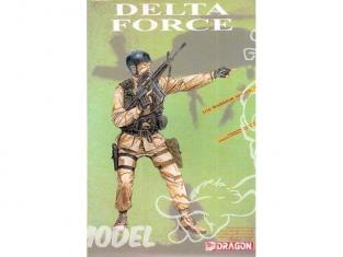 Dragon personnage militaire 1610 Delta force 1/16