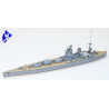 TAMIYA maquette bateau 77502 British Rodney Battleship 1/700