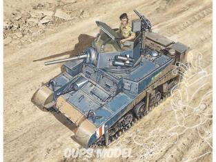 Italeri maquette militaire 15761 Char Léger US M3 Stuart 1/56 28mm