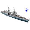 TAMIYA maquette bateau 31804 U.S. Navy CA-35 Indianapolis 1/700