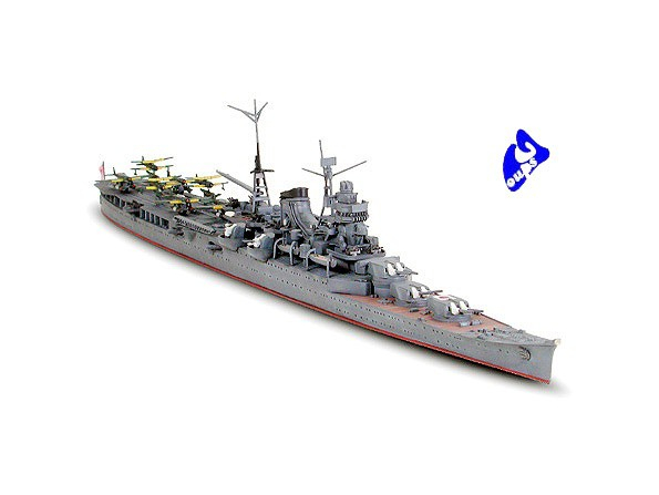 TAMIYA maquette bateau 31341 Mogami Aircraft Cruiser 1/700