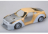 HOBBY DESIGN Kit amelioration 03-0314 LB Performance Nissan R35  Detail-up Set avec carrosserie large 1/18