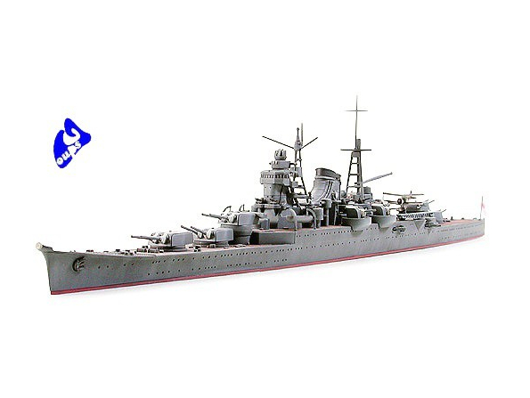 TAMIYA maquette bateau 31342 Mikuma Heavy Cruiser 1/700