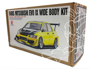 HOBBY DESIGN Kit amelioration 03-0383 Varis Mitsubishi EVO IX Wide Body Kit pour Fujimi 1/24