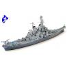 TAMIYA maquette bateau 31613 US Navy Battleship Missouri 1/700