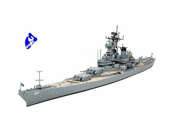 TAMIYA maquette bateau 31614 US Navy Battleship New Jersey 1/700