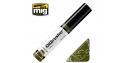 MIG Oilbrusher 3506 Vert champ Peinture a l'huile avec applicateur