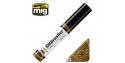 MIG Oilbrusher 3508 Boue foncée Peinture a l'huile avec applicateur