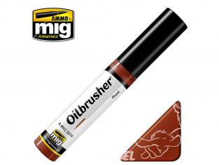 MIG Oilbrusher 3510 Rouille Peinture a l'huile avec applicateur