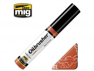 MIG Oilbrusher 3511 Rouge appret Peinture a l'huile avec applicateur