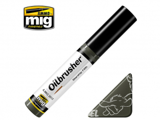 MIG Oilbrusher 3513 Starship Filth Peinture a l'huile avec applicateur