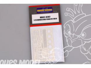 Hobby Design Amélioration 02-0207 Honda Civic Ferio VTI pour kit hasegawa 1/24